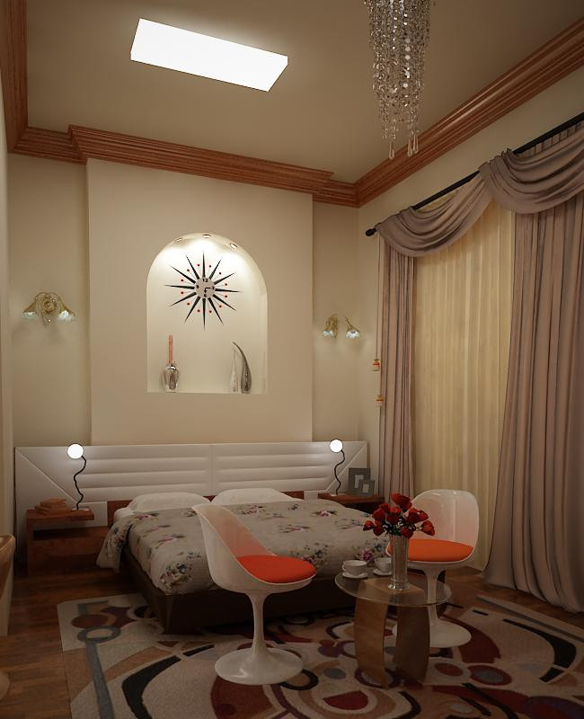 bedroom in 3d max vray 1.5 image