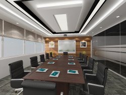 INTERIOR DESIGN - MEETING ROOM
