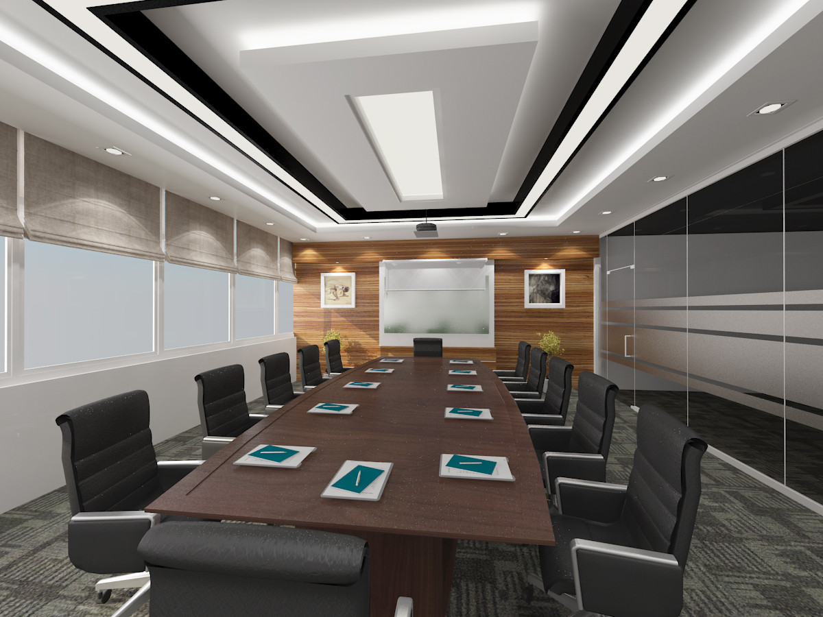 INTERIOR DESIGN - MEETING ROOM in 3d max vray 1.5 image