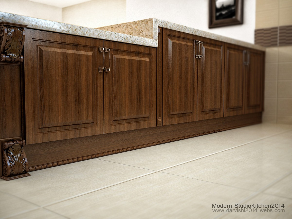 Kitchen SS in 3d max vray image