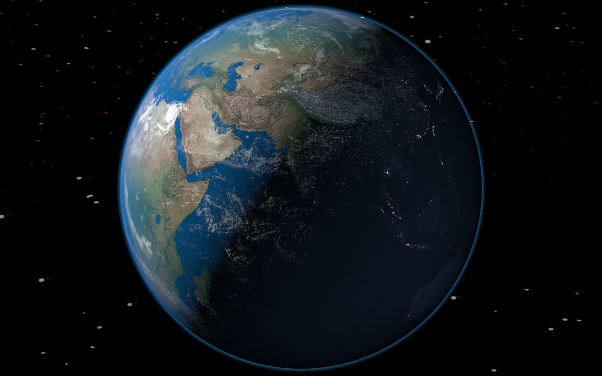Planet Earth in Cinema 4d Other image