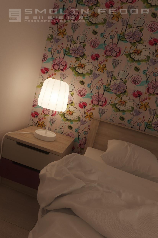 Room girls in 3d max corona render image
