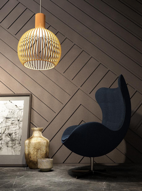 Interior design in Blender cycles render image