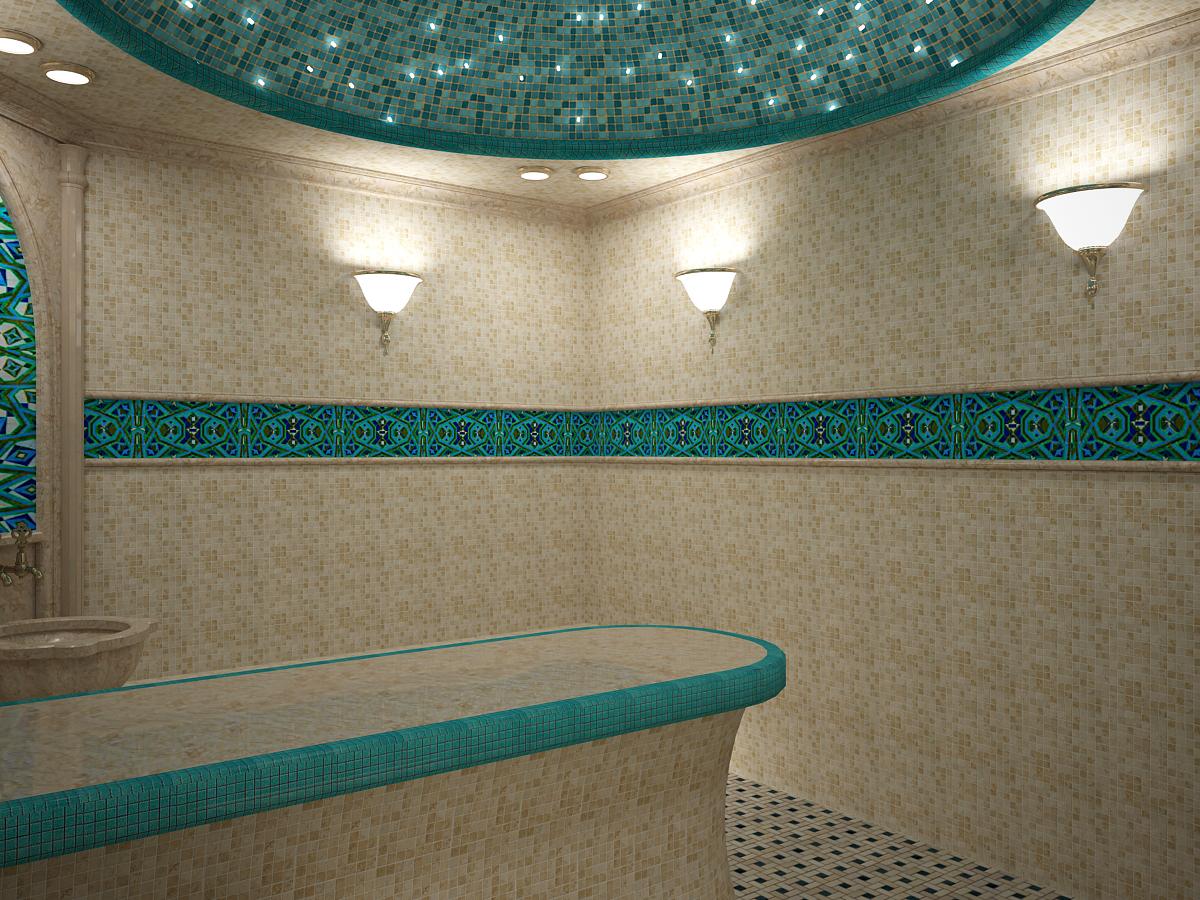 Turkish sauna 03 in 3d max vray 3.0 image