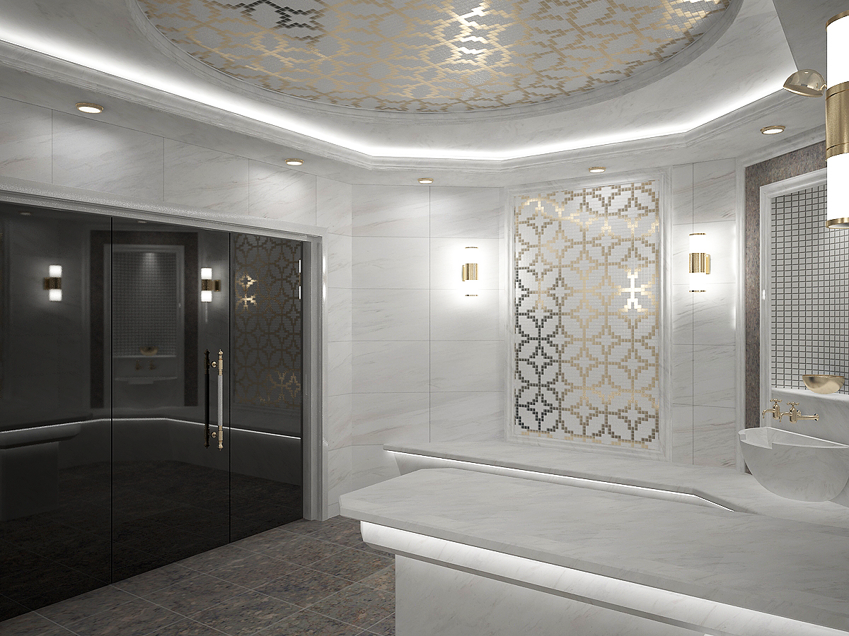 Turkish sauna 05 in 3d max vray 3.0 image