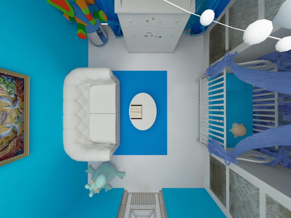 imagen de Vivero en 3d max vray