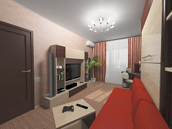 Sala de estar, dormitorio, es :)