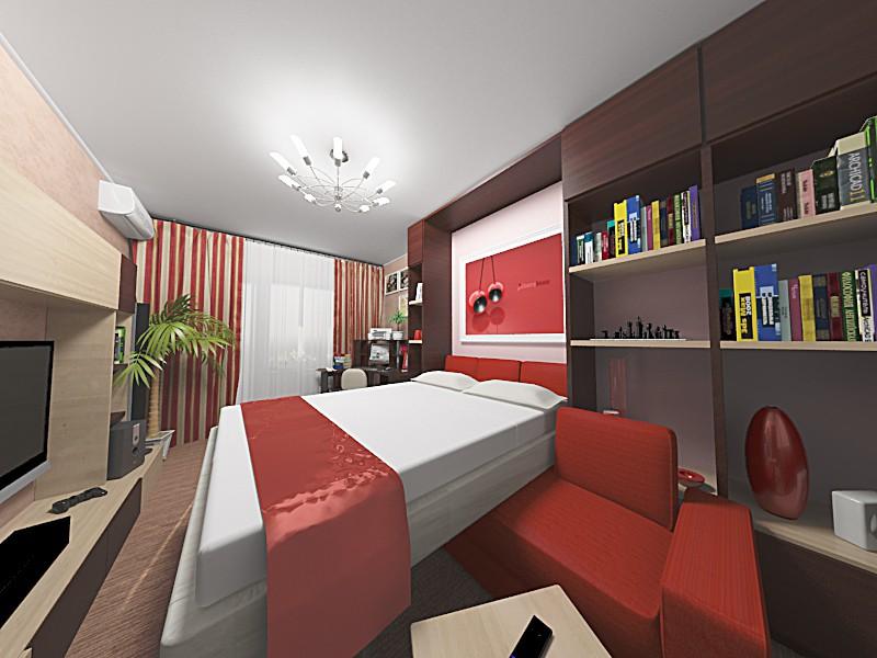 Living room, bedroom, it is :) in 3d max vray image