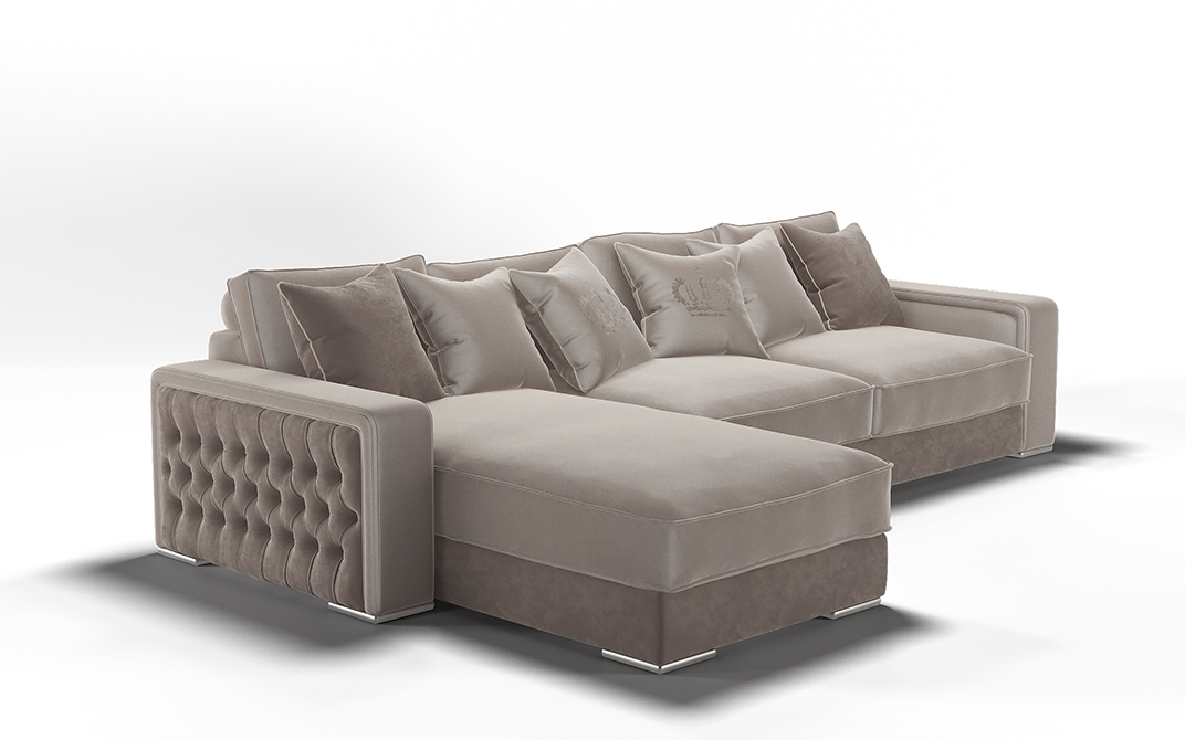 3d visualization of the project in the Sofa 3d max, render vray 3.0 of Alyona