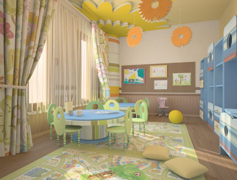 imagen de cuarto de niños))) en 3d max vray