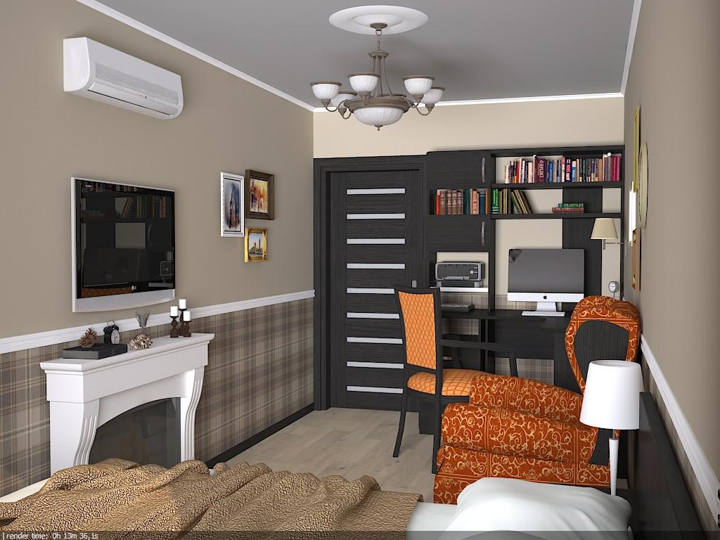 imagen de Dormitorio en Chelm en 3d max vray