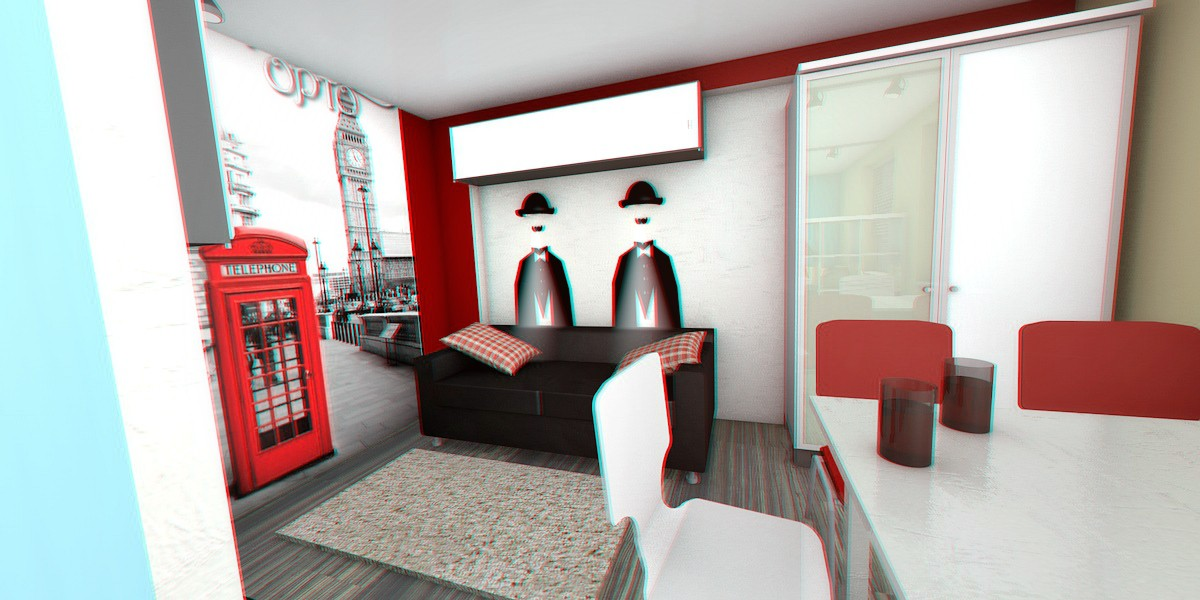 small apartments in Cinema 4d Other image