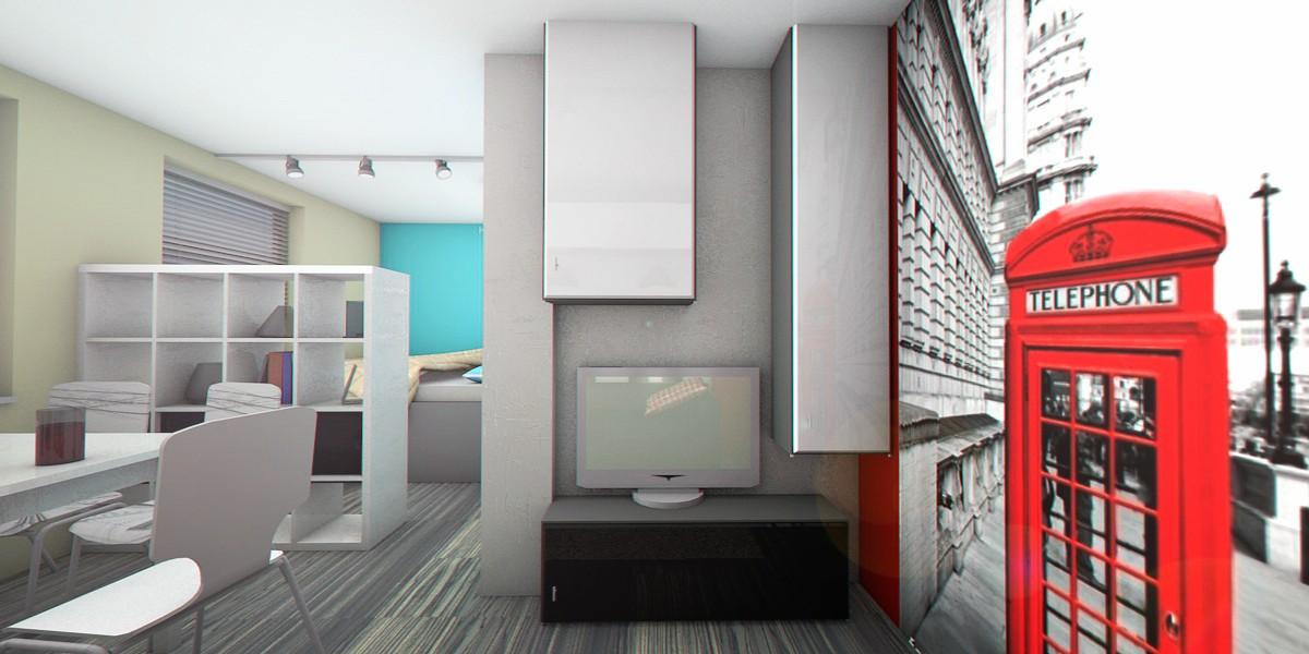 imagen de  Pequeños apartamentos  en  Cinema 4d   Other