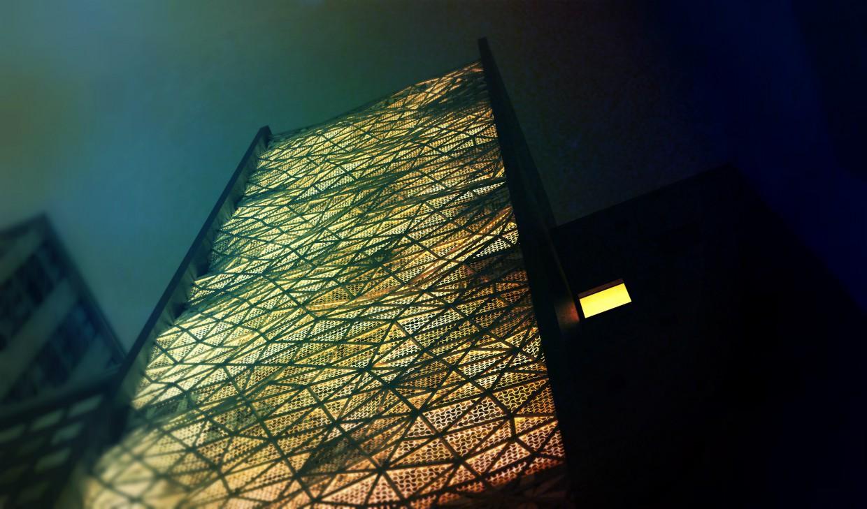 imagen de Edificio en 3d max corona render