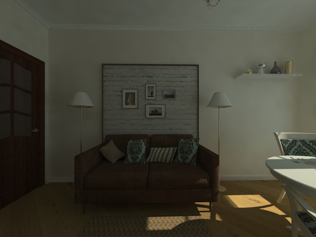 first attempts in 3d max vray image