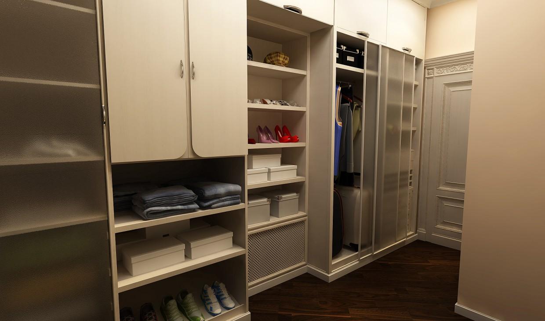 Garderobe in 3d max vray Bild