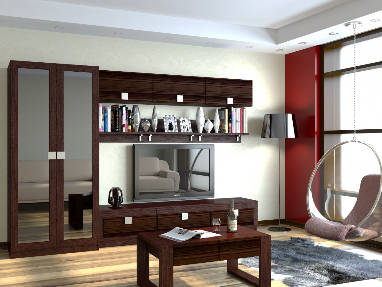 Living room * Alexandria * in 3d max vray image