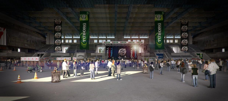 Palais de glace abandonnés. ENEA. Kiev (coups finales) dans 3d max Other image