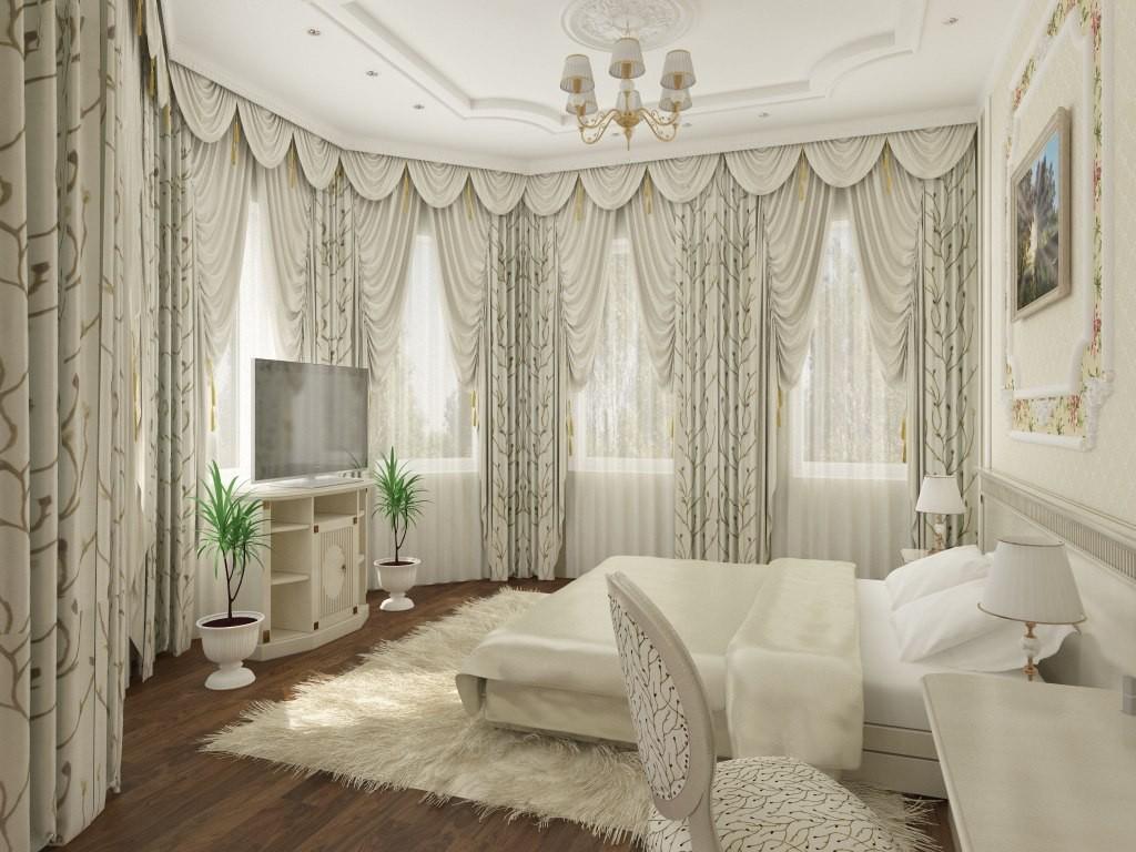 Спальня для молодой пары. в 3d max vray изображение