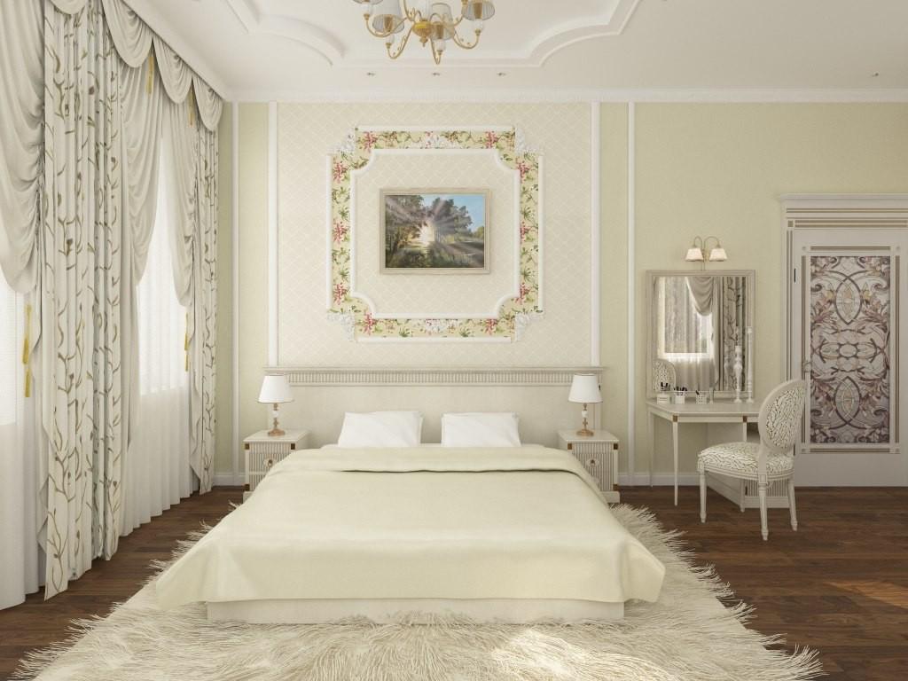 imagen de Dormitorio para una pareja joven. en 3d max vray
