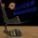 खेल के लिए छड़ी Blender cycles render में प्रस्तुत छवि