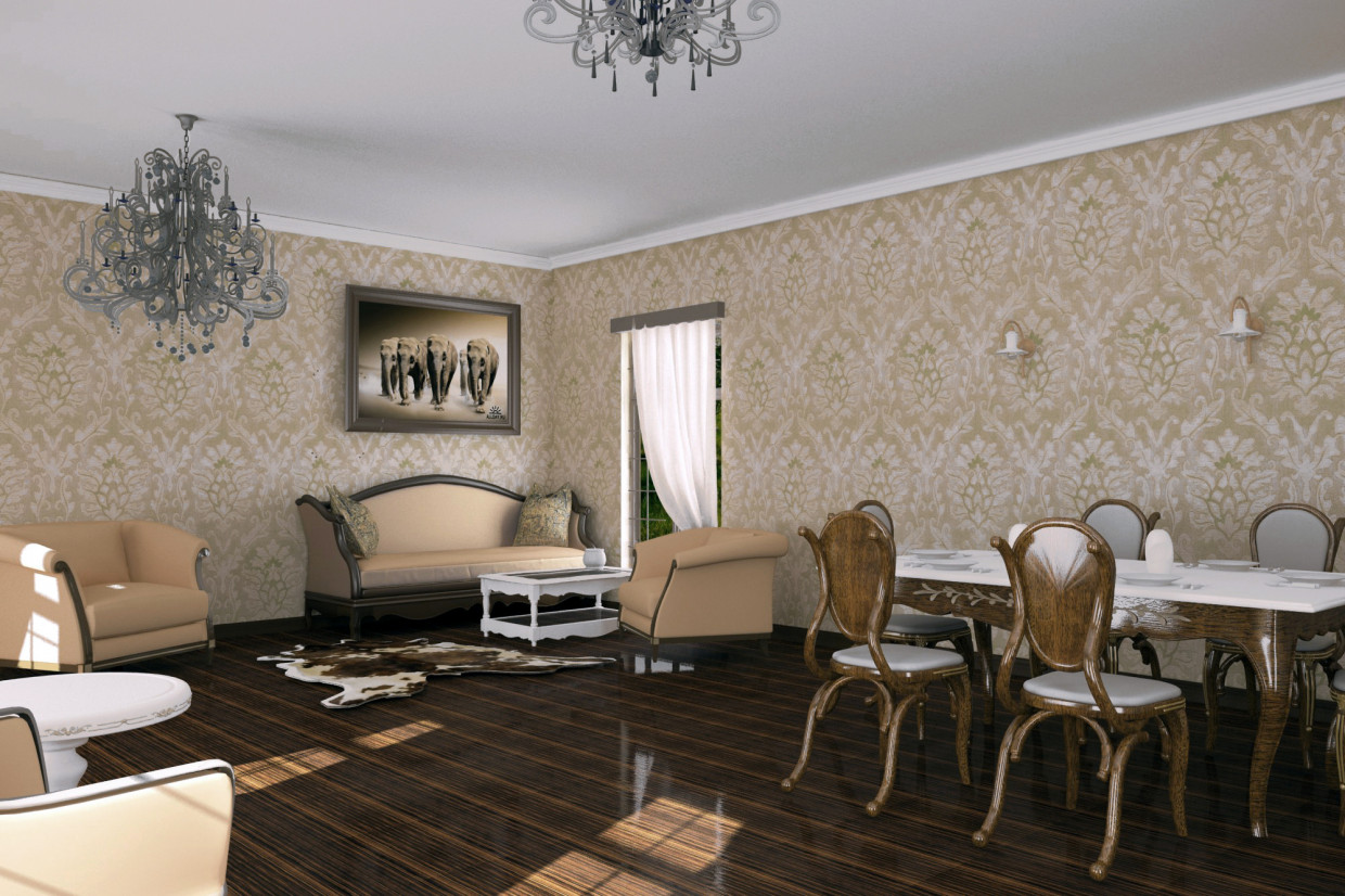 Gold  in  3d max   vray  image