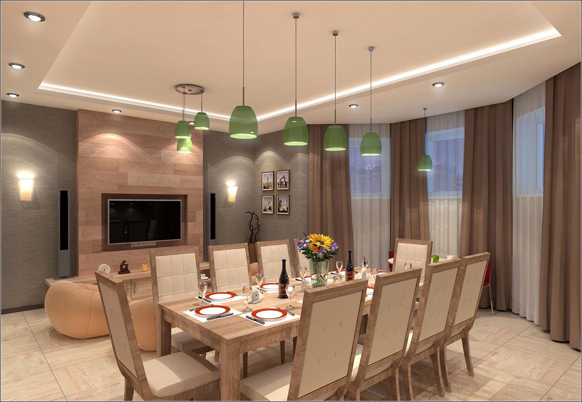 Interior design of a room for a barbecue in Chernigov. in 3d max vray 1.5 image