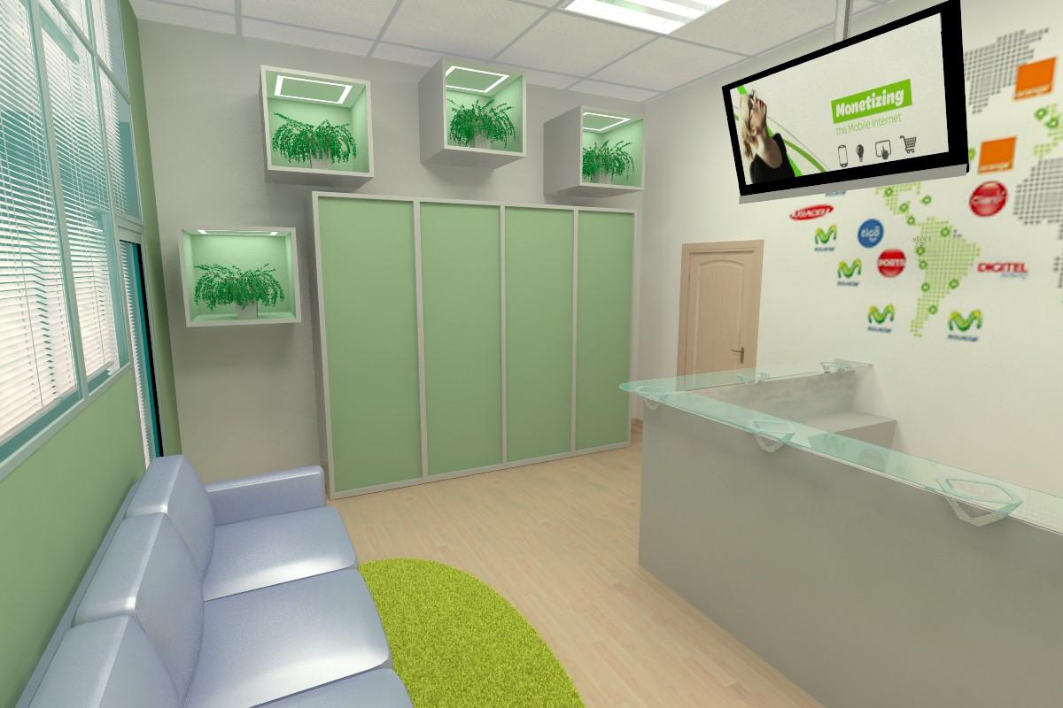 visualización 3D del proyecto en el zona de entrada var 2 (1) 3d max render vray arbuz