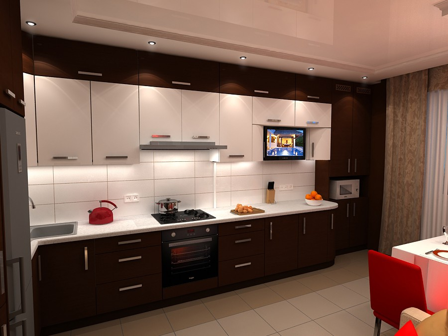 """imagen de Cocina """"chocolate"""" en Chernihiv en 3d max vray"""