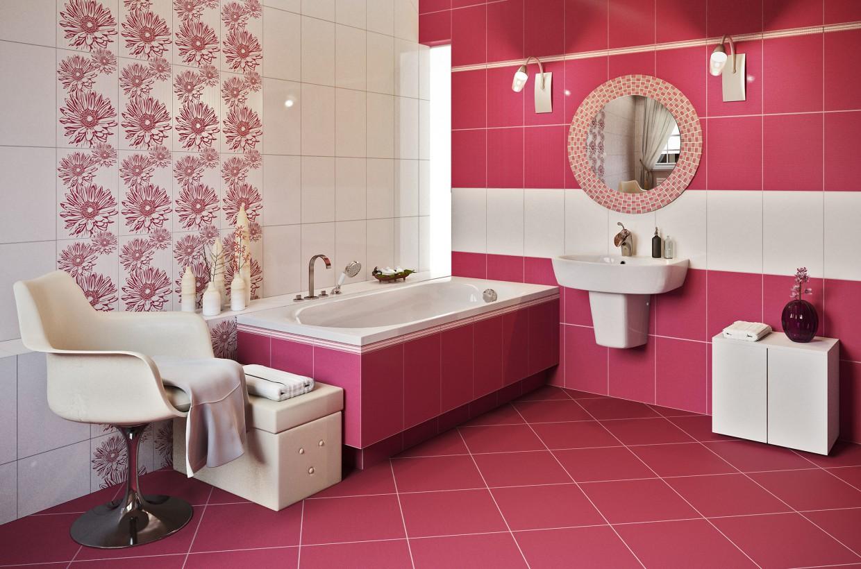 3d визуализация проекта Purple Bath в 3d max, рендер corona render от Conceptvision