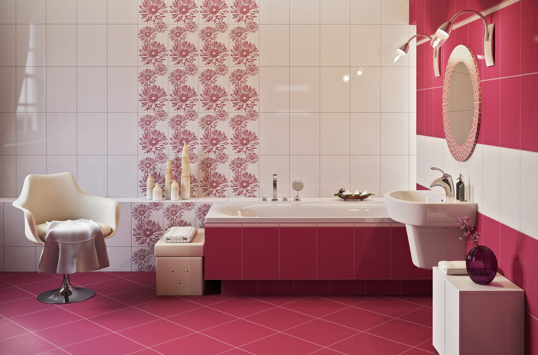 Purple Bath in 3d max corona render image