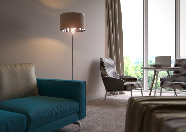 Готельний номер Z.a.l.e.s.k.i в 3d max corona render зображення