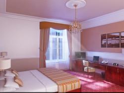 Номер в Hotel Radium Palace (Яхимов, Чехия).
