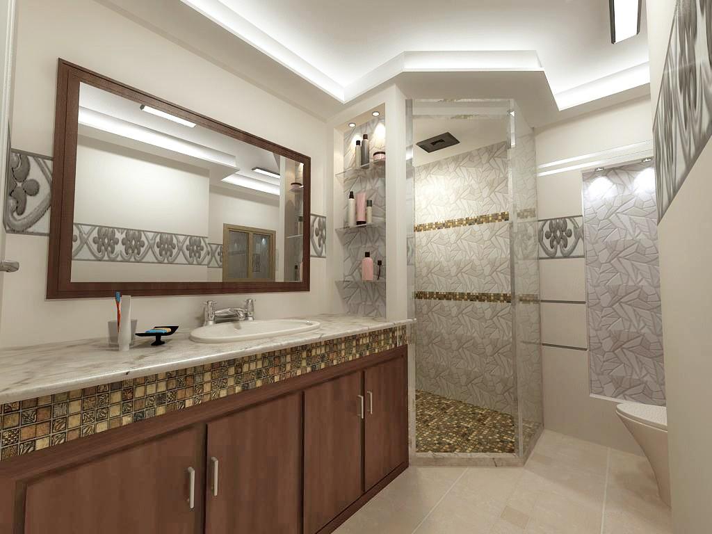 Projenin 3D görselleştirilmesi Bath View 3d max , render vray of ammar_0195