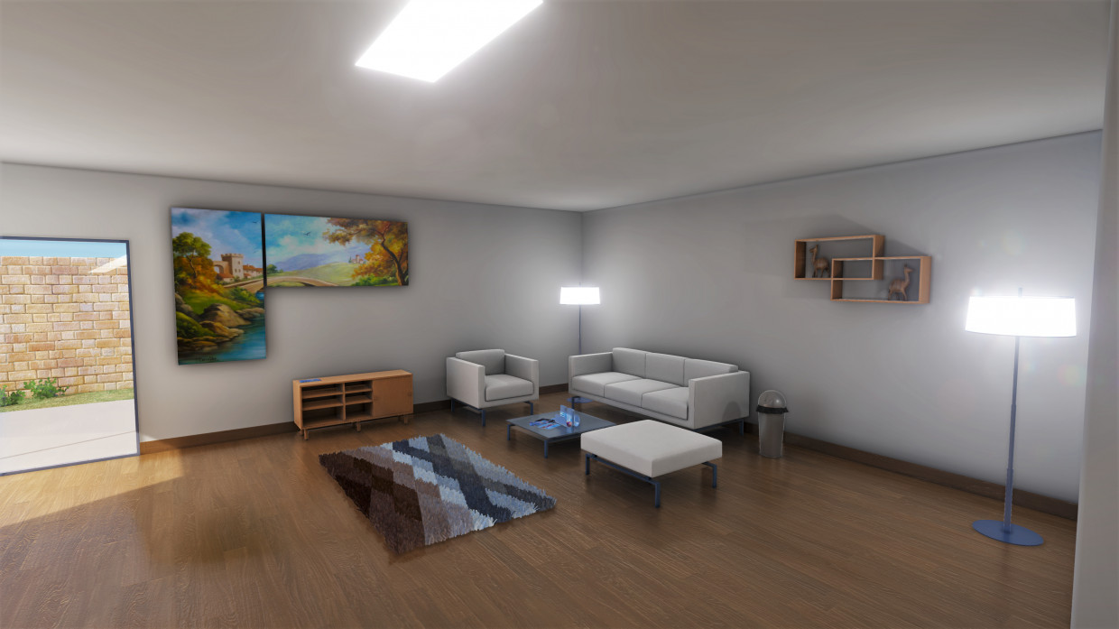 Interior Test in 3d max Other image