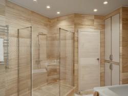 एक बाथरूम