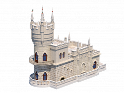 "Castle model ""Swallow's Nest"""