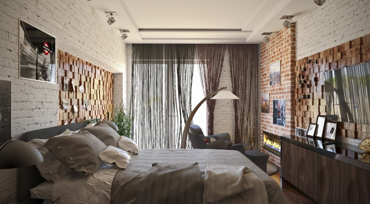 3d visualization of the project in the Soft Loft 3d max, render corona render of Conceptvision