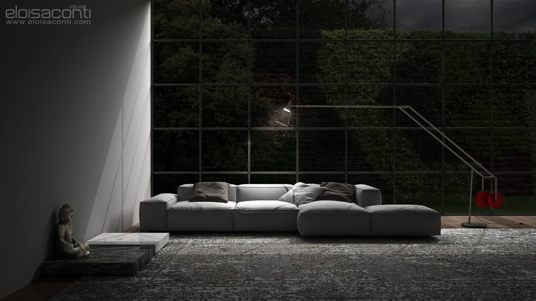 Product viz CGI: Siddhartha 's living  in  Cinema 4d   vray 2.5  image