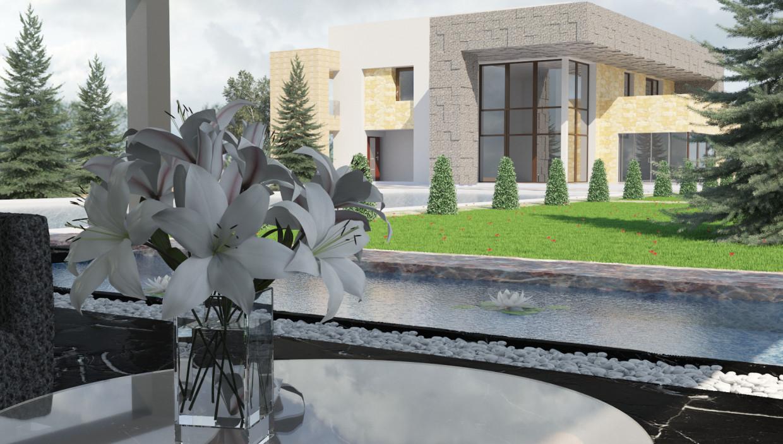elitniy asabnyak in 3d max corona render image