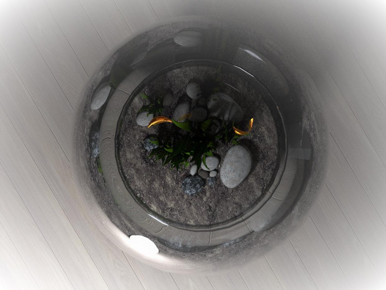 in 3d max corona render image