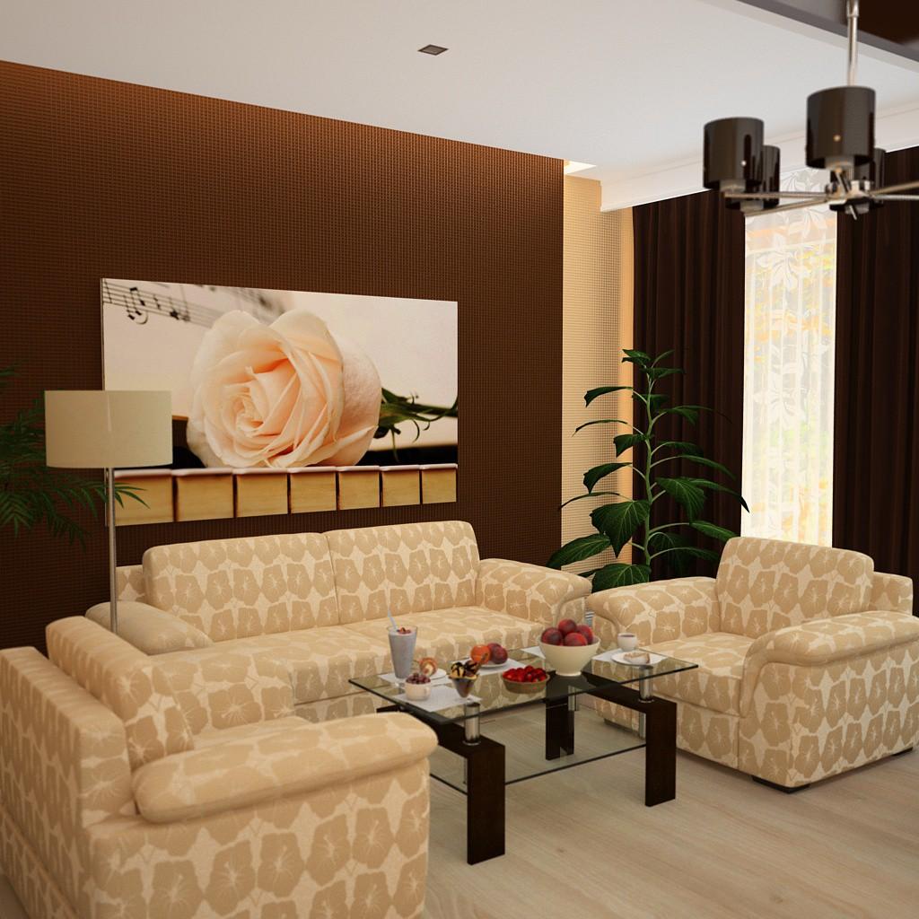 imagen de Habitación para un músico en 3d max vray 3.0