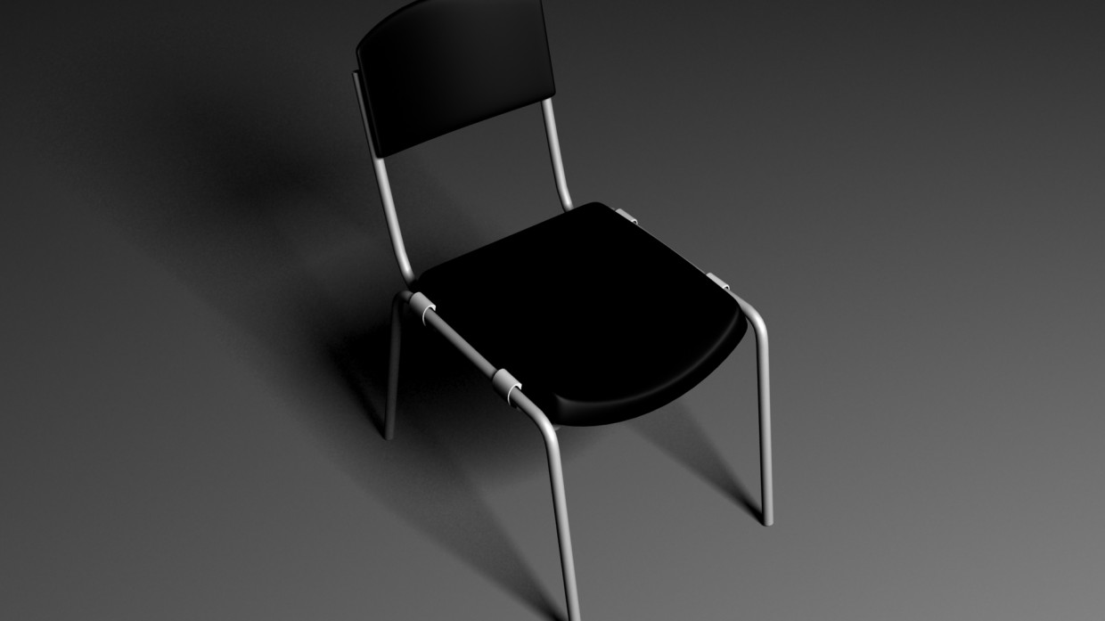 Office Chair in 3d max vray image