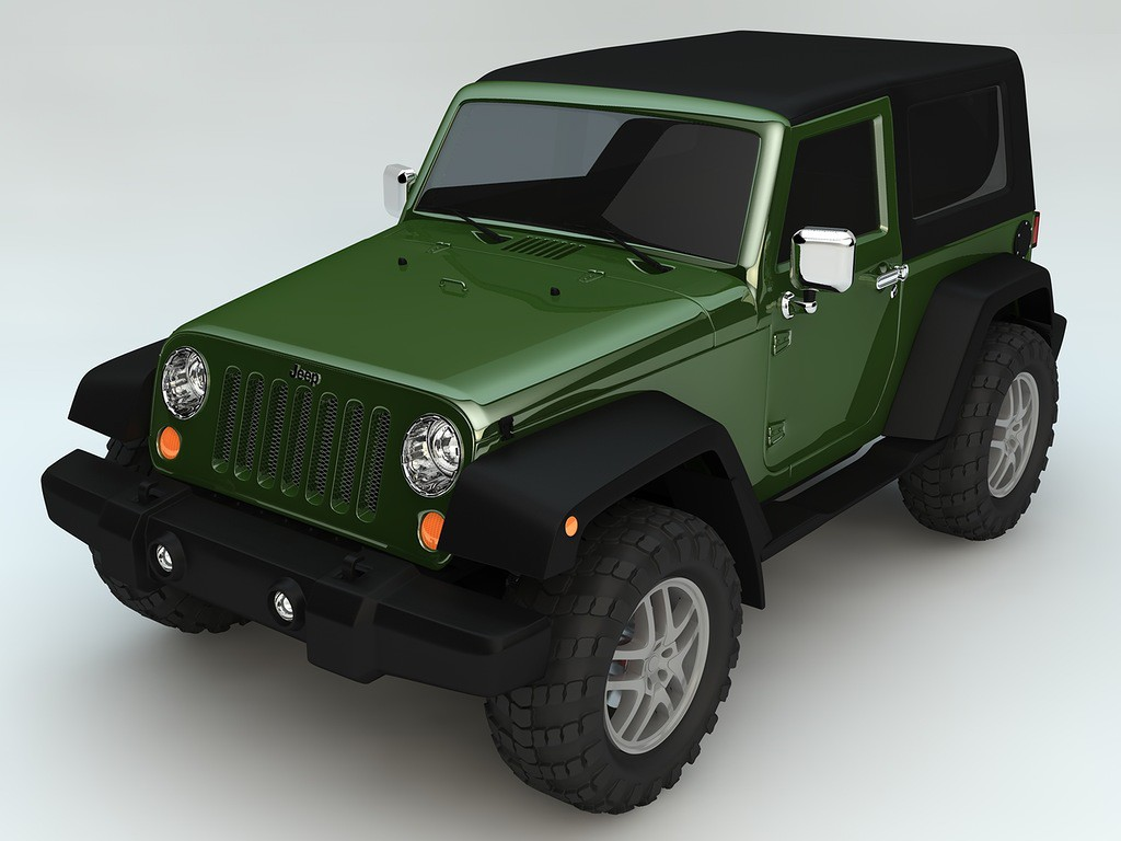 Jeep Wrangler Rubicon в Cinema 4d Other изображение