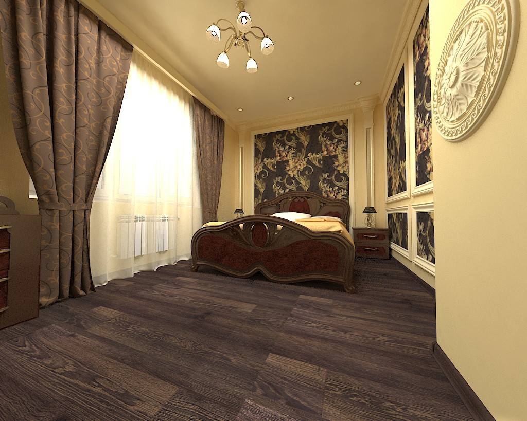 Interiors in 3d max vray 2.0 image