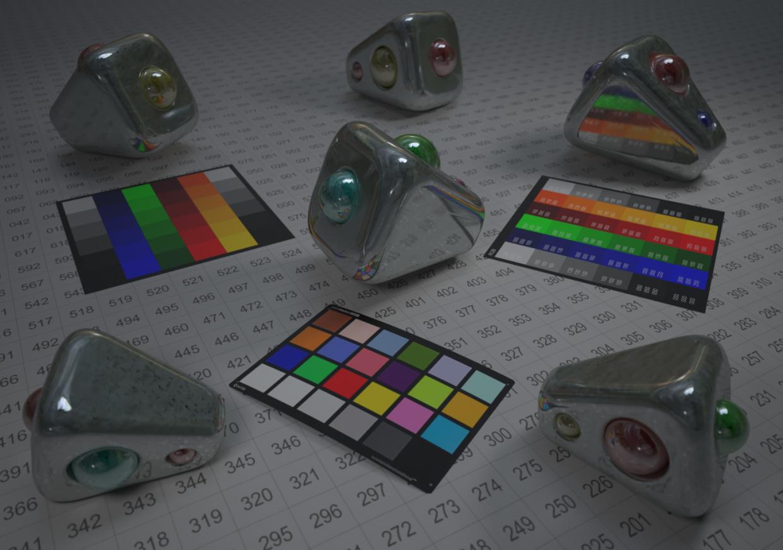 ट्रोनको डी पाइरामाइड Blender maxwell render में प्रस्तुत छवि