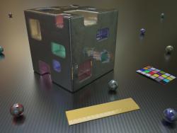 Cubo metallo