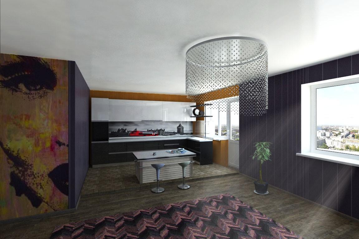 3d візуалізація проекту Панно з мозайки в 3d max, рендер vray 2.5 від jupiter