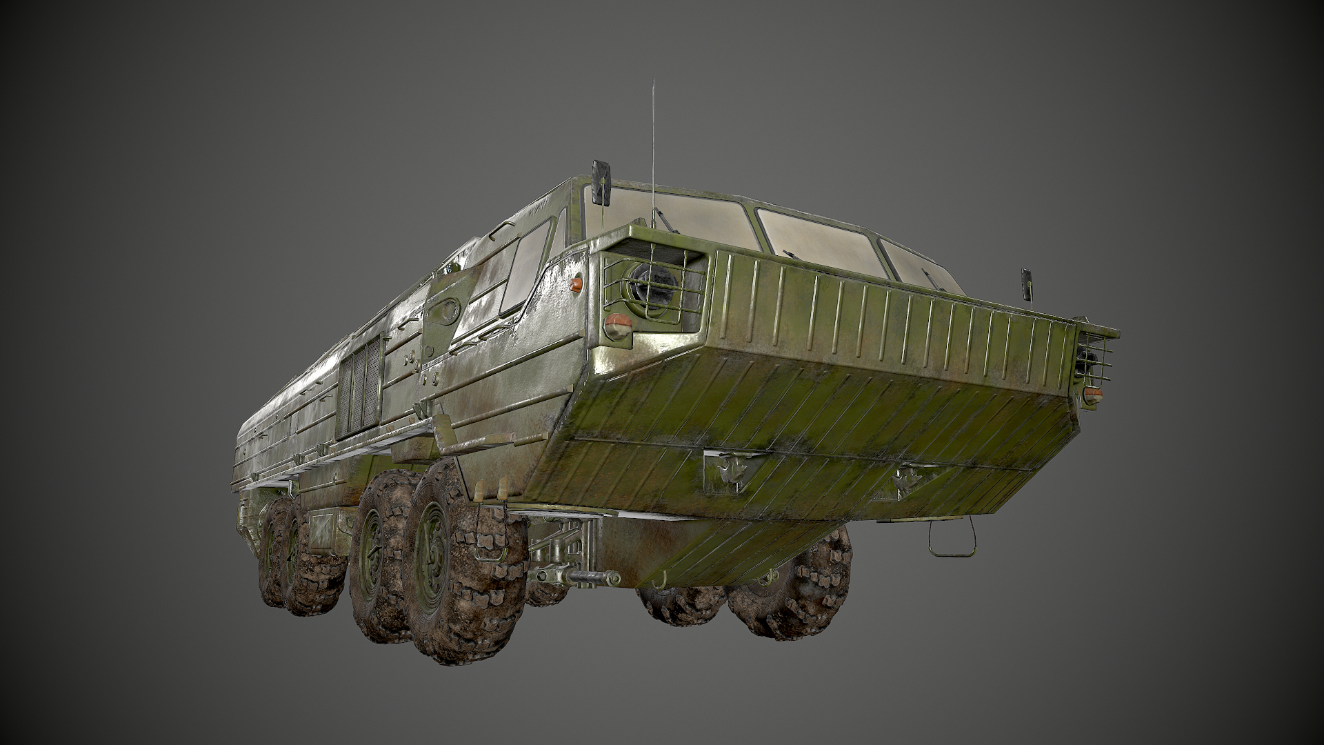 Tactical missile system Oka in 3d max Other image