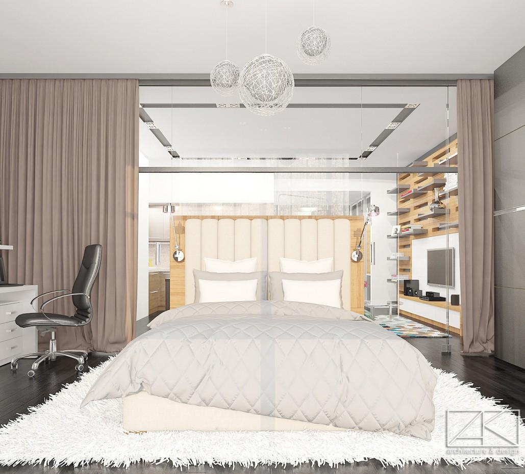 Интерьер студии «Urban» в 3d max vray изображение